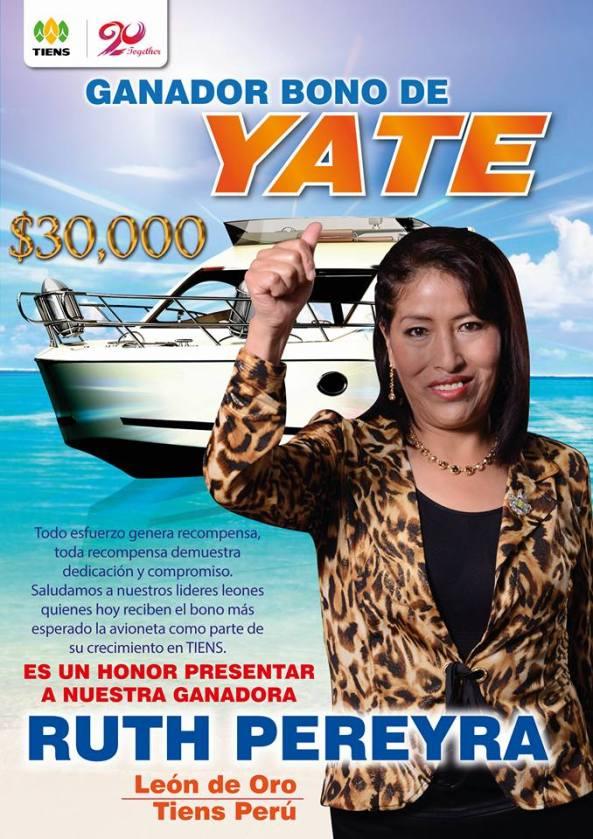 RUTH BONO YATE